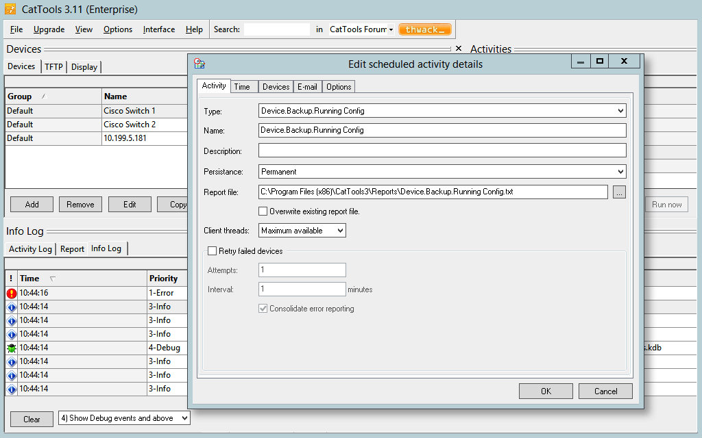 kct-backup-config
