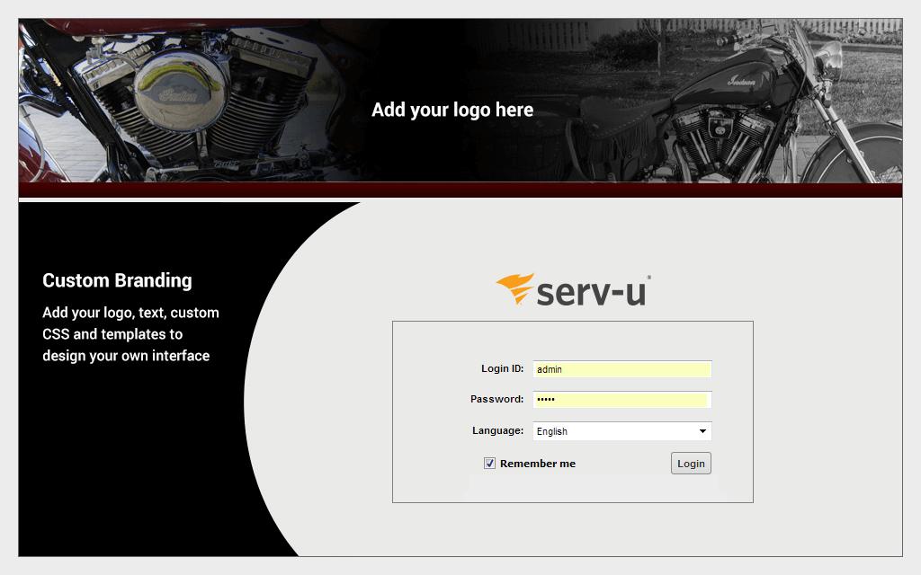 mft custom branding