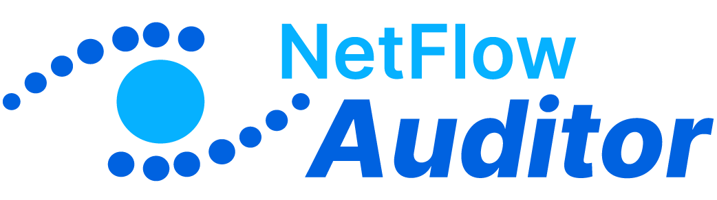 Netflow Auditor logó horz stk lt